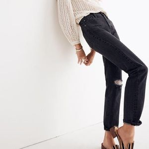 NWT Madewell The Perfect Vintage Ripped Jeans